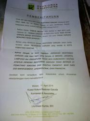 Owner Restoran Garuda Sebut, Garuda Siantar Tak Masuk Manajemen Pihaknya
