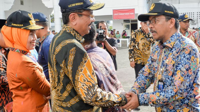 44 ASNPemprov Peroleh Penghargaan, Gubernur Tengku Erry Minta Supaya Lebih Paten