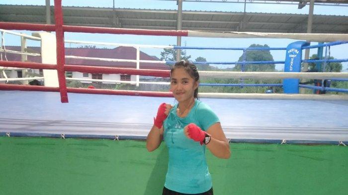 SOSOK Suzen Ramsi, Atlet Tinju Sumut, Rutin Latihan Endurance dengan Cara Berlari Selama Sejam