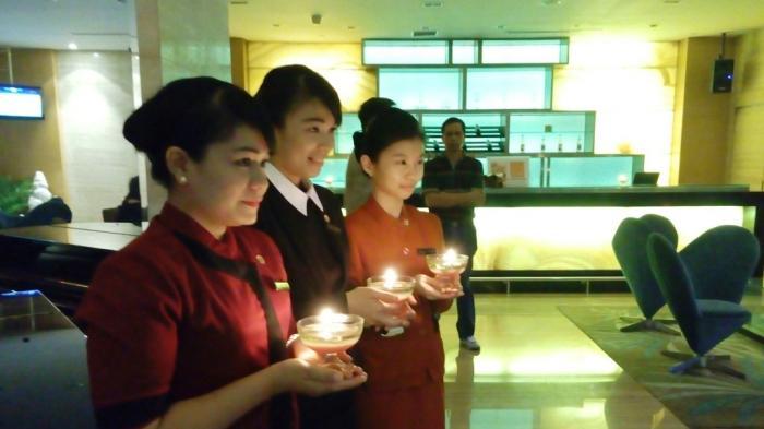 Swiss Belhotel Medan Satu Jam Tanpa Lampu