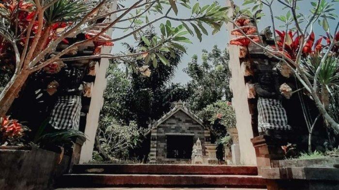 SUASANA T Garden  - Little BALI in Medan yang berada di Jalan Jati Kesuma, Namorambe, Kabupaten Deliserdang, Sumatera Utara, Senin (24/8/2020).