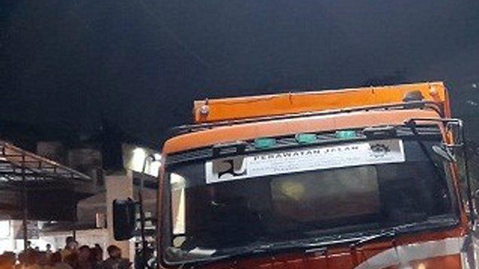 Tabrakan Beruntun di Jalan Medan -Pematangsiantar, Truk Fuso Bermuatan Aspal Hantam 6 Kenderaan