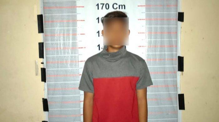 Duel Remaja Belasan Tahun Berujung Main Tikam, Pelaku Kini Ditahan di Polsek Pangkalan Brandan