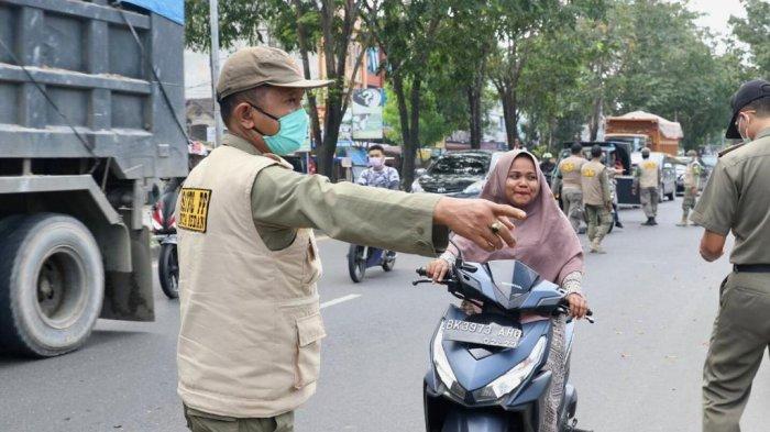 Polda Sumut Perintahkan Jajaran Polres dan Polsek Lakukan Razia Masker