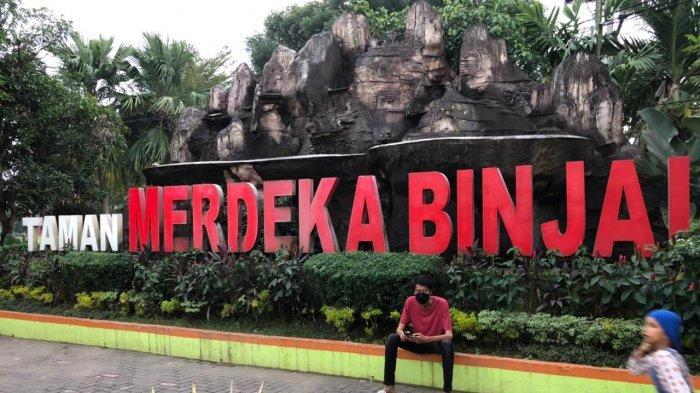 Taman Merdeka Binjai, Lokasi Favorit Warga Bersama Keluarga