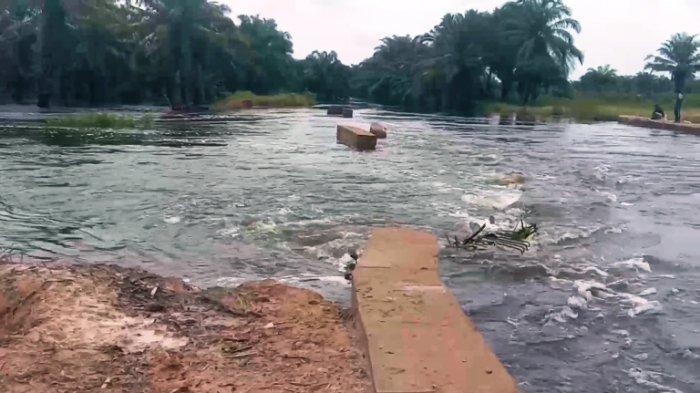 Sungai Asahan Meluap, 205 Rumah di Desa Sei Dua Hulu Terendam Banjir