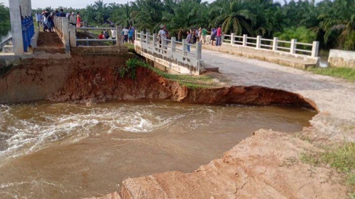 Kota Tanjungbalai Terancam Banjir karena Tanggul Jebol, Ini Penjelasan BPBD