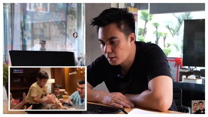 Tangkapan layar Baim Wong geram Rafathar dibully netizen, Rabu (9/6/2021).