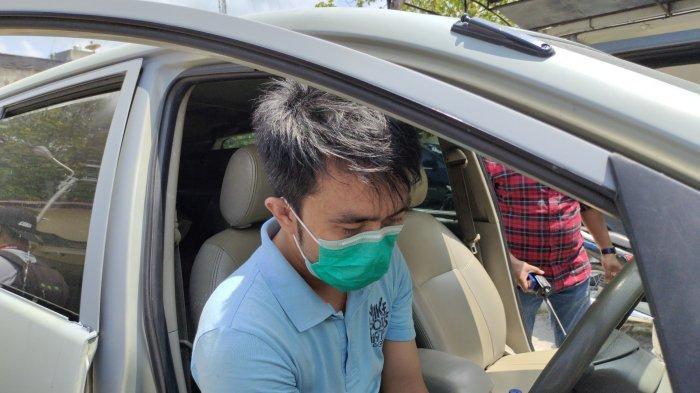 Detik-detik Pegawai Bank BUMN di Tanjungbalai Curi Mobil dari Gudang