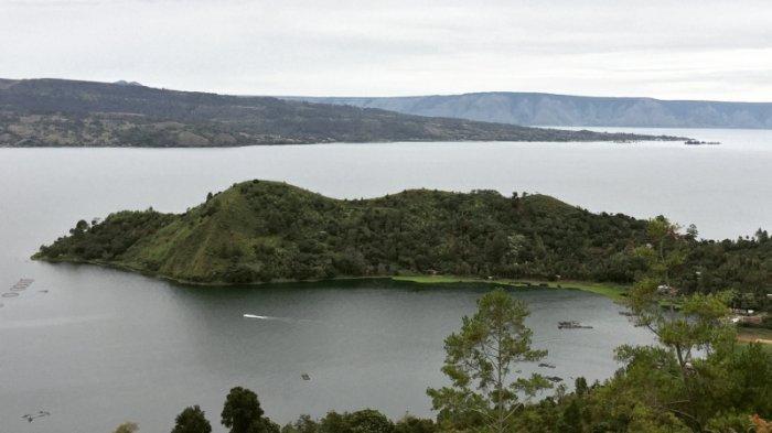 DESTINASI Tanjung Unta yang berada di Desa Tambun Raya, Kecamatan Dolok Pardamean, Simalungun, Sumatera Utara.
