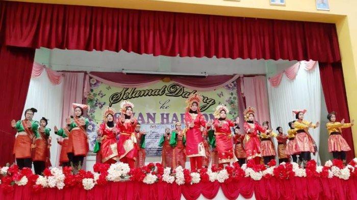 Siswa SMP YPSA Perkenalkan Tarian Nusantara di Malaysia