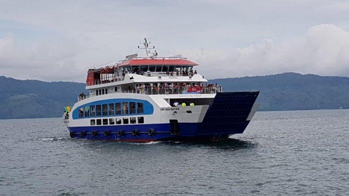 Operasional KMP Ihan Batak Resmi Dihentikan Setelah Mobil Avanza Nyebur ke Danau Toba