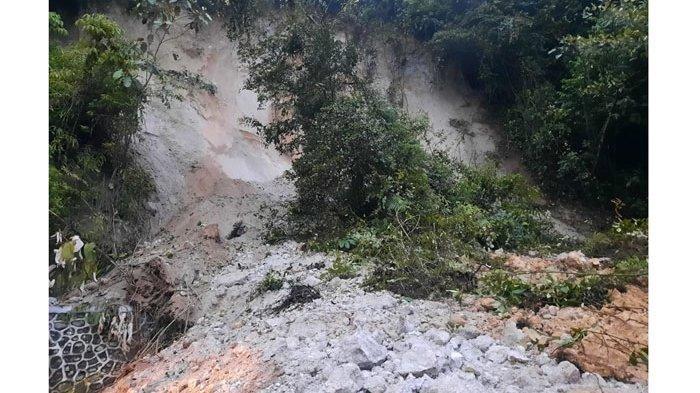 Longsor di Tahura Jalur Medan-Berastagi, BPBD Karo Pastikan Tak Ada Korban Jiwa