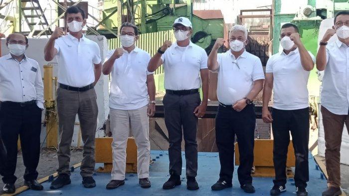 Giling Perdana Tebu PGKM, PTPN II Targetkan Produktivitas Tebu Mencapai 65 Ton Per Hektar