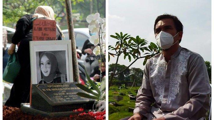 Pemakaman Rina Gunawan, Teddy Syach: Allah sebagai Saksi, Istri Saya Istri yang Baik, Saya Ikhlas