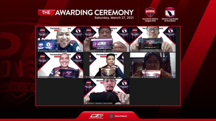 Bangun Ekosistem e-Sports di Sumatera, Telkomsel Apresiasi Gamers Berprestasi