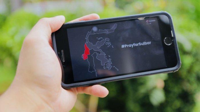 Telkomsel Bebaskan Telepon dan SMS untuk Pelanggan Terdampak Bencana Gempa di Sulbar