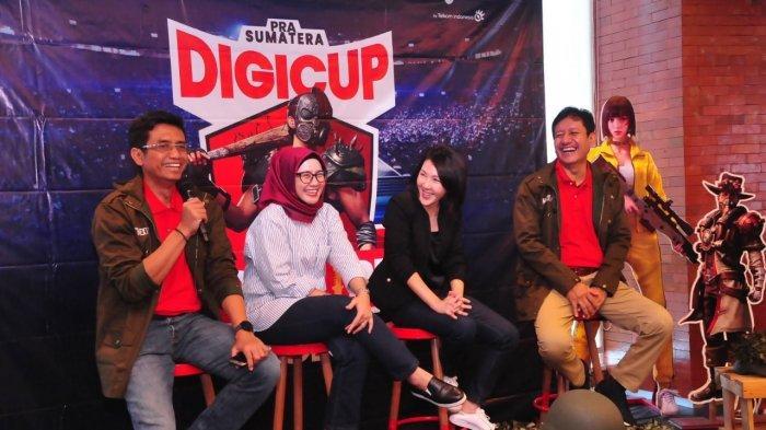 Telkomsel Kembali Gelar Sumatra DigiCup, Total Hadiah Rp 300 Juta