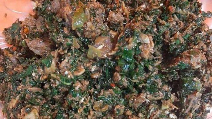 Resep Memasak Tasak Telu, Masakan Khas Karo yang Terbuat Dari Darah Ayam