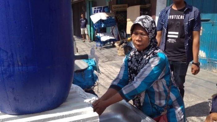 Camat Medan Barat Kembali Bangun Westafel Umum, Kali Ini Berlokasi di Pasar Brayan