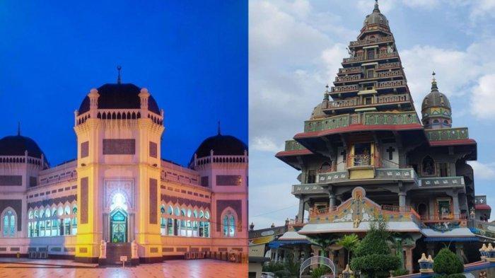 4 Rumah Ibadah di Sumut yang Jadi Destinasi Wisata Religi, Sering Didatangi Turis Asing