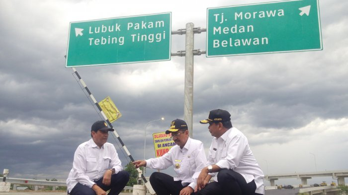 Sepeda Motor, Becak, dan Truk Dilarang Masuk Jalan Tol Kualanamu-Tebing Tinggi selama Lebaran