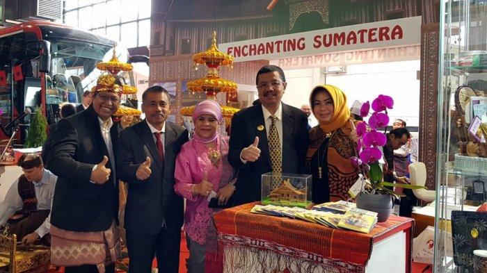 Gubernur Tengku Erry Buka Pameran Utazas Travel Exhibition 2018 di Hongaria
