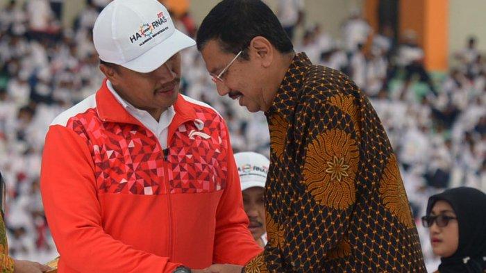 SELAMAT! Gubernur Tengku Erry Peroleh Penghargaan Pembina Terbaik dari Menteri Olahraga