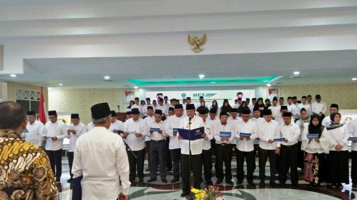 Gubernur Tengku Erry Dilantik Jadi Ketua MES Sumut, Ini Harapannya
