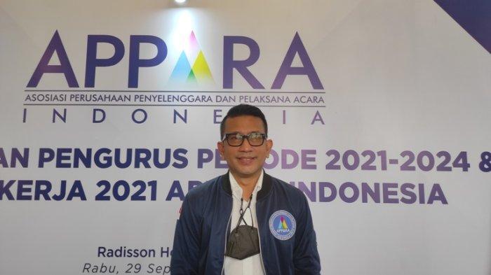 Teuku Nur Azan Ketum Appara 2021-2024, Ingin Bantu Pekerja Event Bertahan pada Masa Pandemi