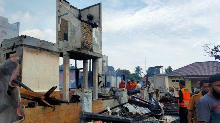 Bangunan Terbakar di Pesantren Darul Arafah, Ikon Termegah dan Dirancang Seperti Rumah Mandailing