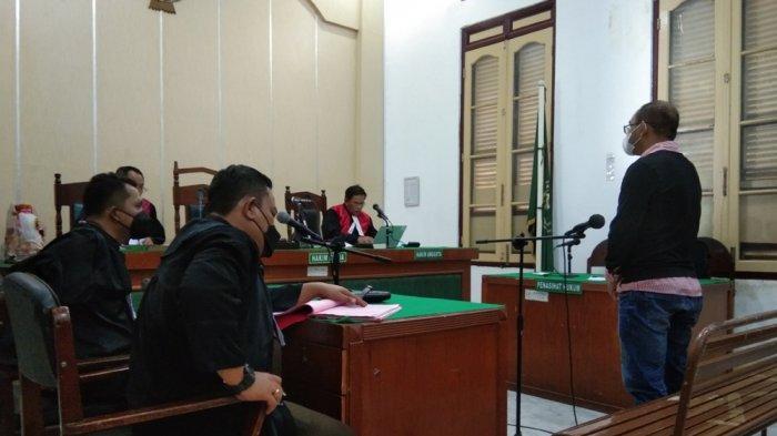 Gebuki dan Cakar Adik Ipar Karena Rekaman, Romi Divonis 3 Bulan Penjara