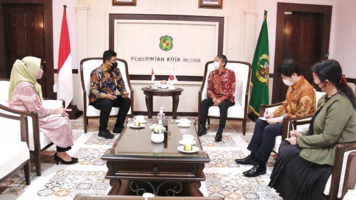 Wali Kota Medan Berharap Kerjasama Jepang dan Kota Medan Semakin Baik