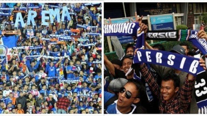 TERKINI JADWAL PERTANDINGAN LIGA 1 Arema FC vs Persib Bandung, Pengamanan 2 Kali Lipat Jelang Laga