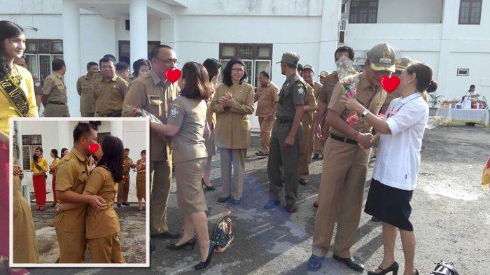 Heboh Foto Ciuman Massal PNS Nias Selatan, Ini Reaksi Mengejutkan Gubernur