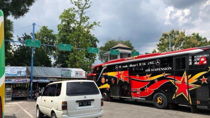 Penjualan Tiket Bus di Terminal Binjai Merosot Tajam