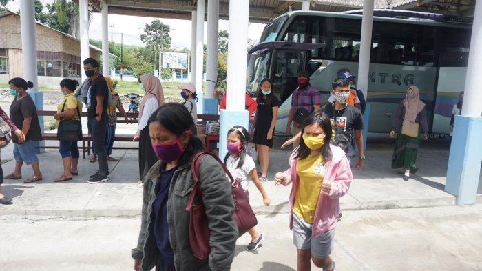 Terminal Tanjung Pinggir Siantar Larang Operasi AKAP dan AKDP Selama Dua Pekan