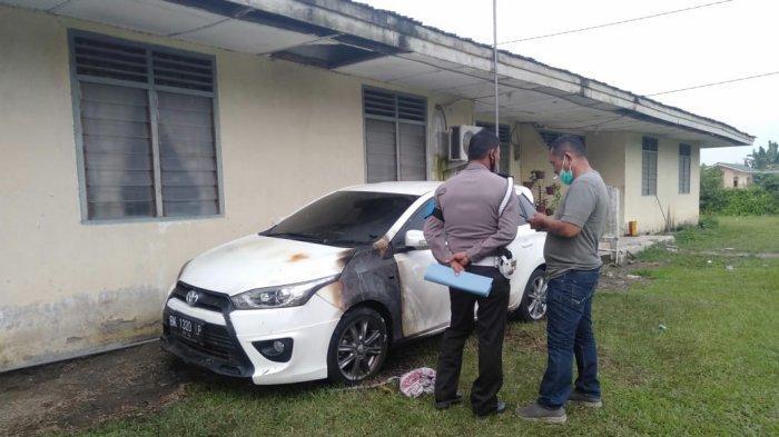 Asisten Afdeling I PTPN II Kena Teror, Mobil yang Terparkir di Depan Rumah Dibakar OTK