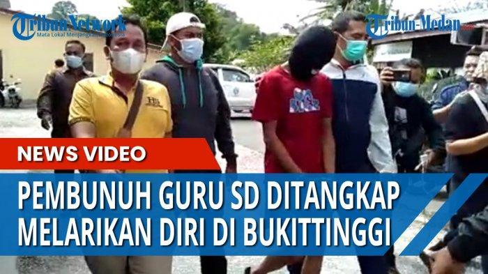 DALANG Pembunuhan Sadis Guru SD JH Ditangkap saat Bersama Gerombolan Anak Punk di Bukit Tinggi