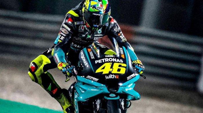 Valentino Rossi,meraih hasil buruk pada tes pramusim pertama MotoGP 2021 yang digelar di Sirkuit Losail, Qatar, 6-7 Maret 2021.