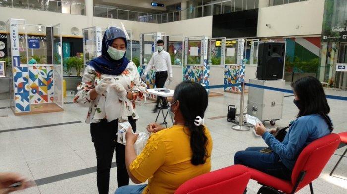 Layanan Genose C19 di Bandara Kualanamu Beroperasi, Penumpang Bebas Pilih Antigen atau GeNose