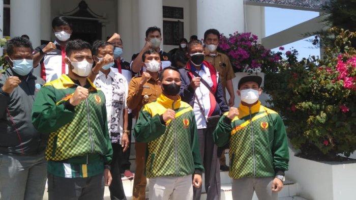 Karateka Sumut Ini Latihan Tiga Sesi Perhari Jelang PON Papua