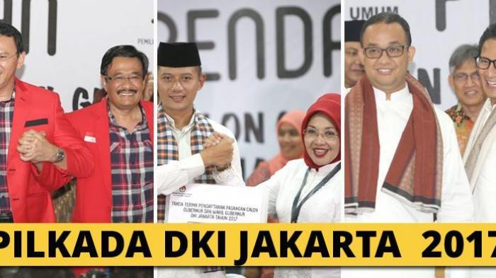 Ini Masing-masing IPK Pasangan Cagub Jakarta saat Kuliah, Punya Ahok Gak Disangka
