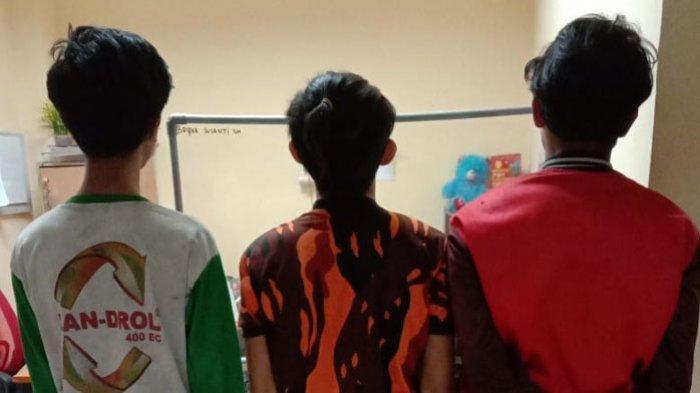 Empat Pemuda Gilir ABG Usia 15 Tahun, Tiga Pelaku Diamankan di Polresta Deliserdang, 1 Orang Buron