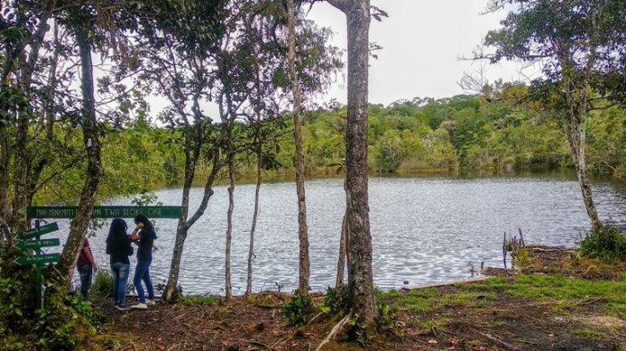 Menilik Panorama Memukau Danau Sicike-cike, Danau Sakral asal Tujuh Marga Suku Pakpak