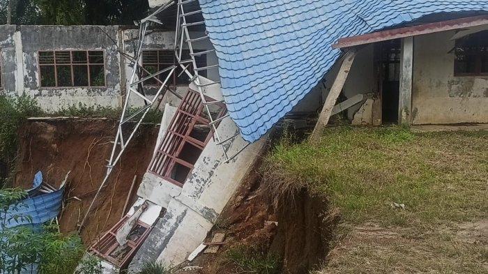 3 Ruangan SD Ambruk di Kecamatan Nassau, Kadis Pendidikan Toba: Segera Kita Tangani