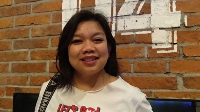 Tika Panggabean, salah seorang personel Project Pop, ditemui usai jumpa pers Konser Love Festival Vol.3 Love is Live, 9 Concerts in 1 Night di CGV Grand Indonesia, Jalan MH Thamrin, Jakarta Pusat, Selasa (15/1/2019).
