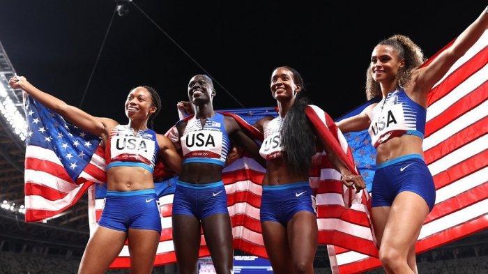 TERKINI, Perolehan Medali Olimpiade Tokyo 2020, Amerika Serikat Juara Umum Usai Tikung China
