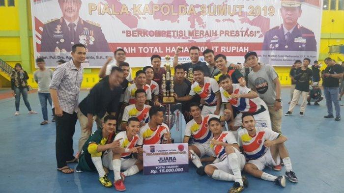 Bank Sumut Cabkor Medan Kampiun, Turnamen Piala Kapolda Sumut Pecahkan Rekor Muri