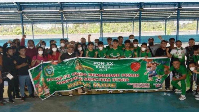 Orang Sumut di Papua Dukung Tim Futsal, Pelatih: Terima kasih Dukungannya yang Luar Biasa